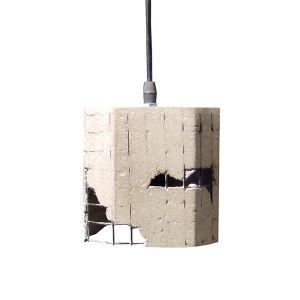 GRID 1 ΦΩΤΙΣΤΙΚΟ ΟΡΟΦΗΣ ΤΣΙΜΕΝΤΟ/ΜΕΤΑΛΛΟ Δ13xΥ12,5cm