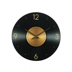 IVY ΡΟΛΟΪ ΤΟΙΧΟΥ ΓΥΑΛΙ ΜΑΥΡΟ/ΧΡΥΣΟ Δ50xΥ3,5cm