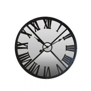 SPEGEL ΡΟΛΟΙ ΤΟΙΧΟΥ ΜΕΤΑΛΟ/ΚΑΘΡΕΦΤΗΣ ΜΑΥΡΟ Δ68xΥ4,5cm
